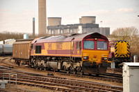 6A48 Bicester MOD - Didcot Yard | Didcot Yard | 66025