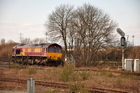 66143 light Engine | Didcot East Curve