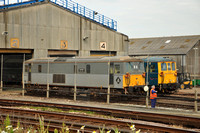 73107 and 73119 stabled | St Leonards Railway Depot. 20/03/13