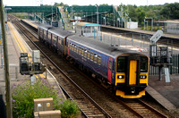 2U14 Taunton - Cardiff Central | Severn Tunnel Junction | 153318 + 150127