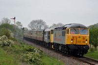 2E48 Wansford - Peterborough NVR | Sutton Cross | 56312 + 31108