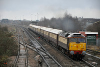 1Z93 Bristol Temple Meads - Kensington Olympia | Highworth Jcn | 47832+47790. 02/03/12