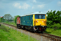 Wansford - Orton Mere | 73001 + Brake Van | Sutton Cross