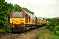 1Y44 Folkstone West - London Victoria | Eynsford Viaduct | 67020. 21/06/13